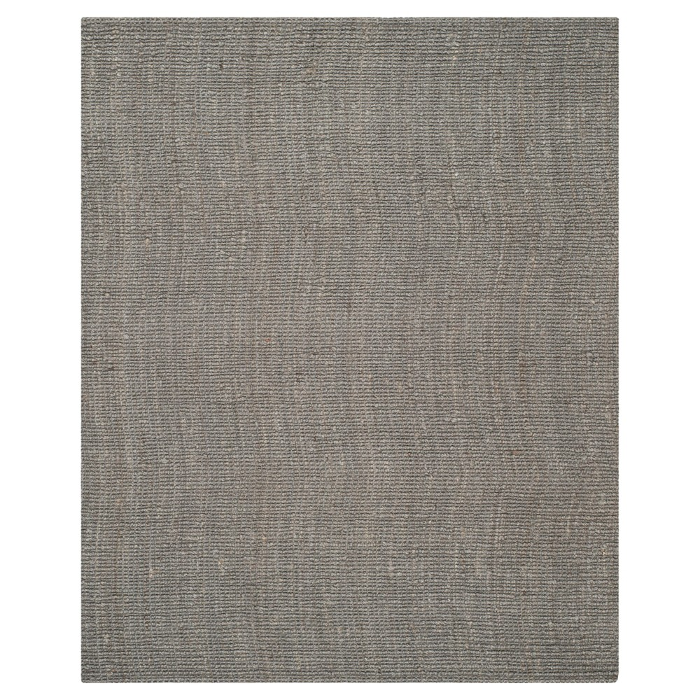 8'x10' Solid Area Rug Light Gray - Safavieh