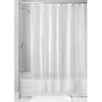 InterDesign Soft Touch Shower Liner Frost 72 x72