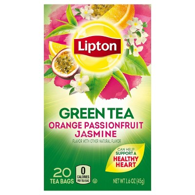Lipton Orange Passionfruit Jasmine Green Tea - 20ct
