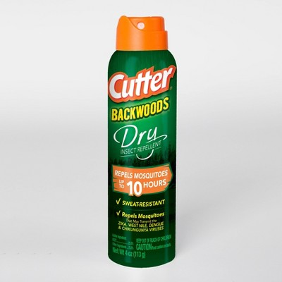 4oz Backwoods Dry Insect Repellent Aerosol - Cutter