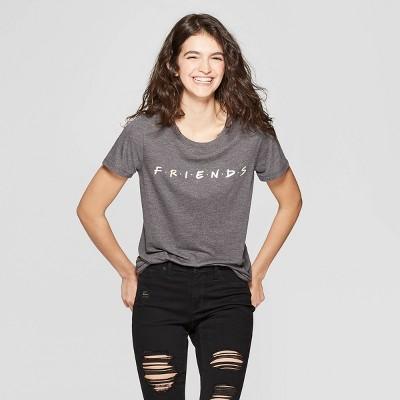 45616c3fcc5 Women s Friends Short Sleeve T-Shirt - (Juniors ) - Charcoal