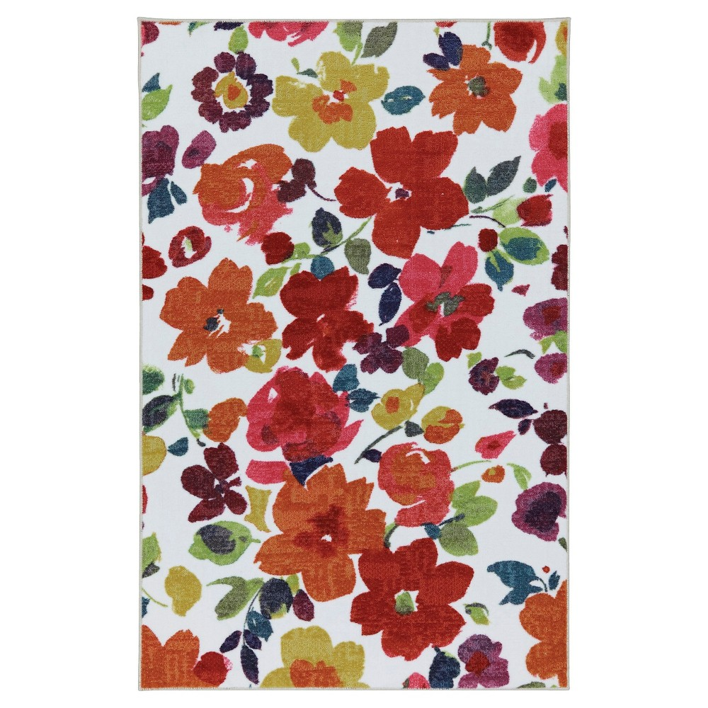 Image of 8'X10' Floral Area Rug - Mohawk