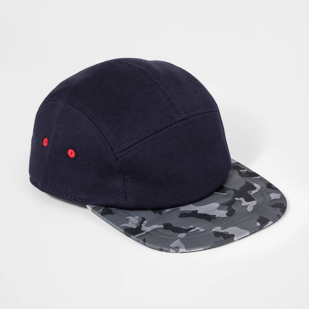Boys' Camo Bring Baseball Hat - Cat & Jack Navy (Blue) thumbnail