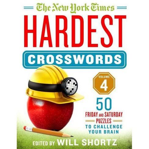 The New York Times Hardest Crosswords Volume 4 - (Spiral_bound) - image 1 of 1
