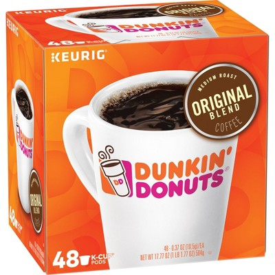 Dunkin' Donuts Original Roast Medium Roast - Keurig K-Cups Pods - 48ct