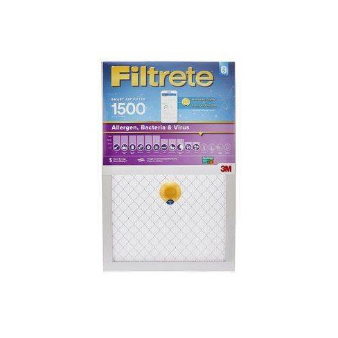 """Filtrete Smart Air Filter, 20""""x20""""x1"""", 1500 MPR - image 1 of 4"""