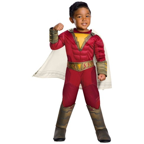 Boys' DC Comics Shazam! Deluxe Halloween Costume 3T-4T - image 1 of 1