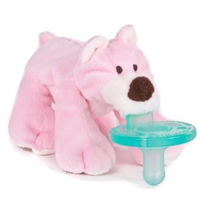 WubbaNub® Bear Pacifier - Pink
