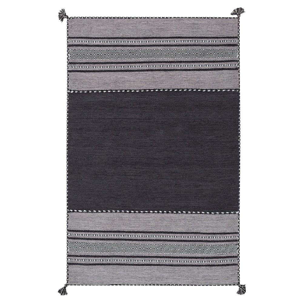 Light Gray Solid Woven Area Rug - (8'X10') - Surya