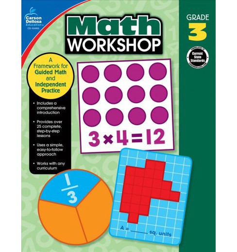 Math Workshop : A Framework for Guided Math and Independent Practice (Paperback) (Erin McCarthy) - image 1 of 1