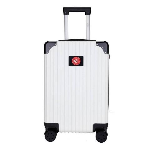 "NBA Atlanta Hawks 21"" Executive Two-Tone Carry On Suitcase - White - image 1 of 4"