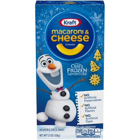 Kraft Olaf's Frozen Adventure Macaroni & Cheese Dinner - 5.5oz - image 1 of 3