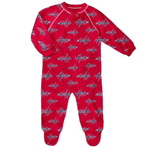 NHL Washington Capitals Newborn  Infant Sleeper   Target 90b57284f