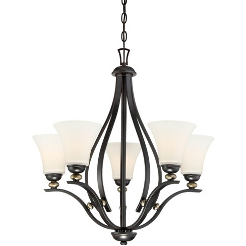 Minka Lavery 3285-589 5 Light One Tier Chandelier from the Shadowglen Collection - image 1 of 1
