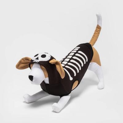 Skeleton Halloween Dog Hoodie - M - Hyde & EEK! Boutique™