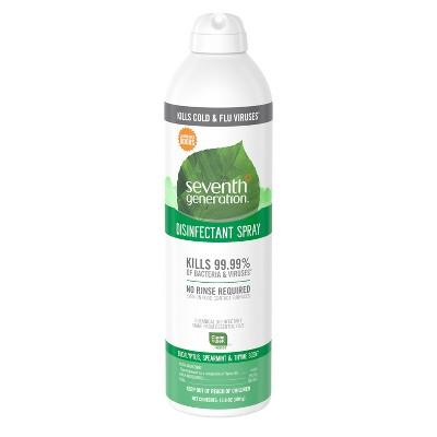 Seventh Generation Eucalyptus & Spearmint Disinfectant Spray - 13.9oz