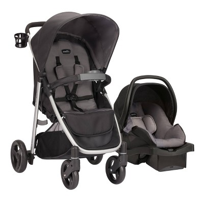 Evenflo FlipSide Travel System with LiteMax Infant Car Seat