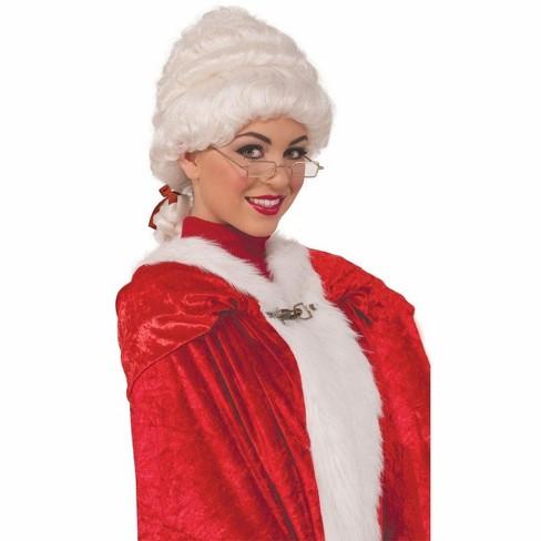 Forum Novelties Mrs. Claus Adult Deluxe Costume Wig - image 1 of 1