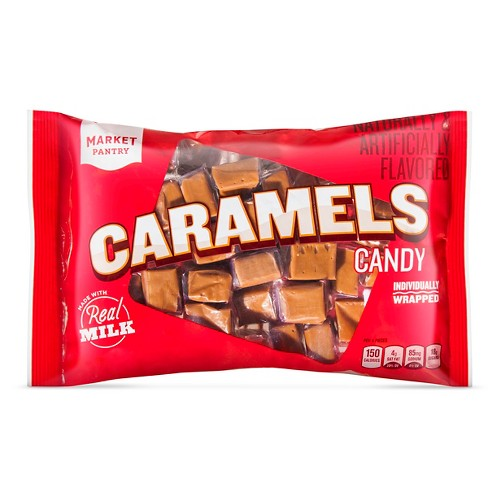 Caramel Squares Individually Wrapped - 14oz - Market Pantry™ - image 1 of 1