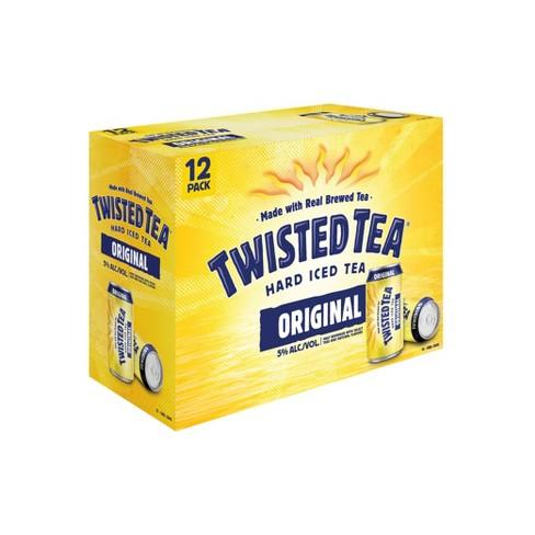 Twisted Tea Original Hard Iced Tea - 12pk/12 fl oz Cans - image 1 of 3