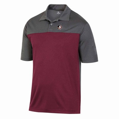 NCAA Florida State Seminoles Men's Short Sleeve Polo Shirt