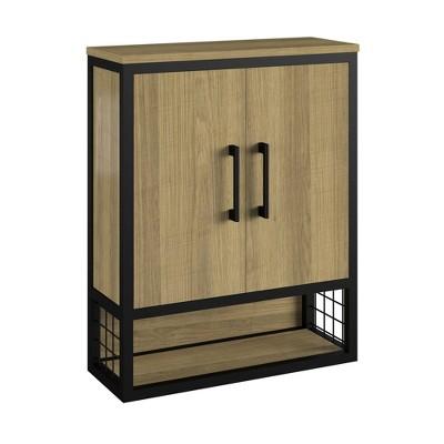 Elias Wall Cabinet Brown - Room & Joy