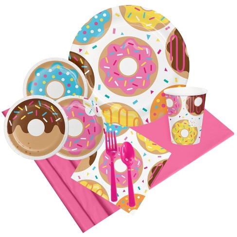 8ct Donut Time Party Pack - image 1 of 1
