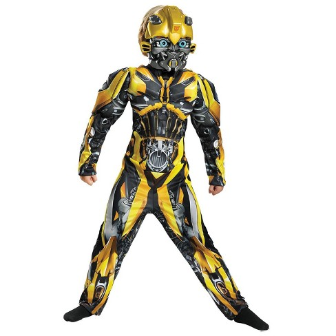 Kids' Transformers Bumblebee Muscle Halloween Costume - image 1 of 1