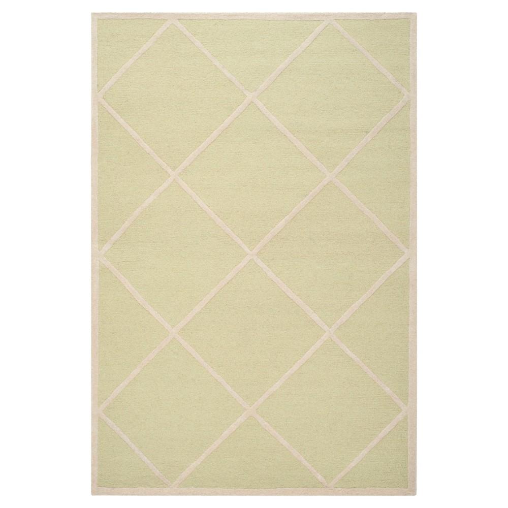 Reave Area Rug - Light Green / Ivory (4' X 6') - Safavieh, Light Green/Ivory
