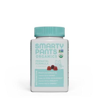 SmartyPants Organics Prenatal Formula Multivitamin Gummies - 90ct