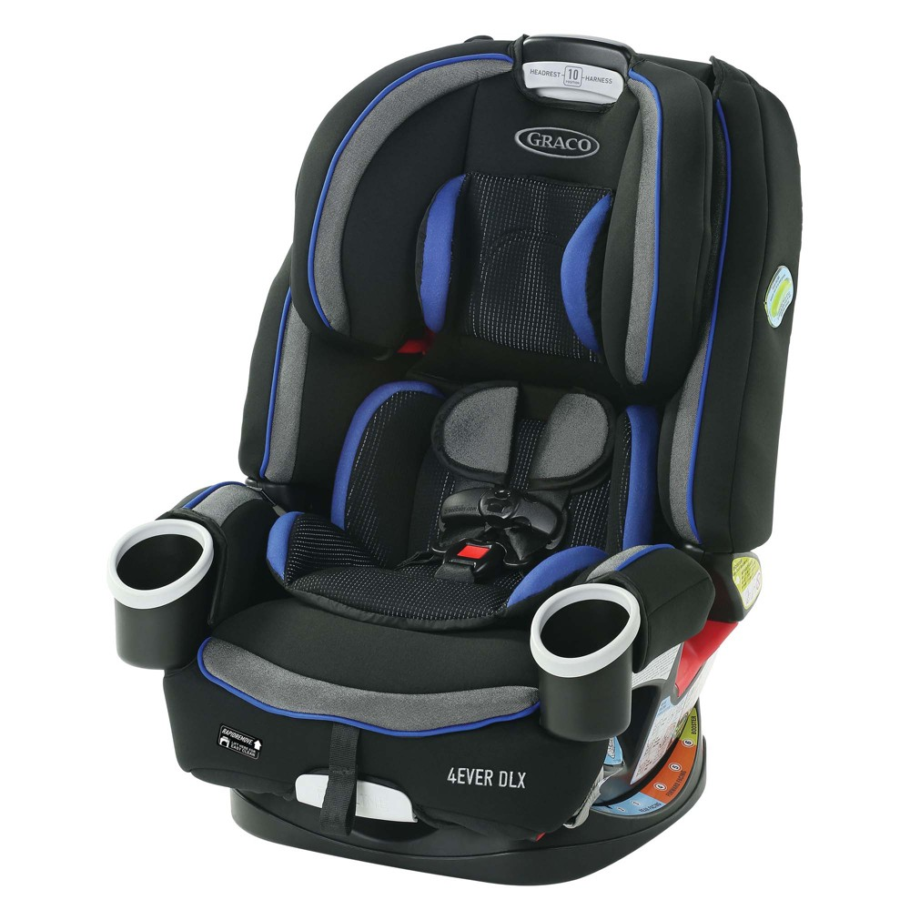 Image of Graco 4Ever DLX 4-in-1 Car Seat Convertible - Kendrick
