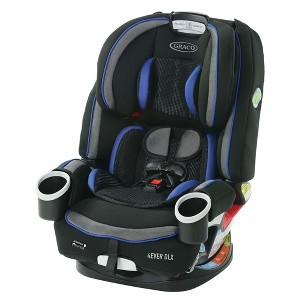737c5cee9d41 Graco 4Ever Dlx 4-in-1 Convertible Car Seat - Black Blue