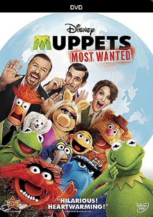 The Muppets Most Wanted (dvd_video) - image 1 of 1