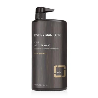 Every Man Jack Sandalwood 3-in-1 All Over Wash - 32 fl oz