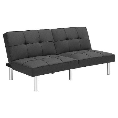 Futon Grey Linen - Room Essentials™