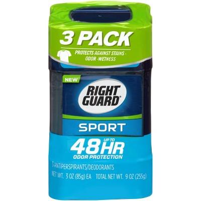 Deodorant: Right Guard Sport