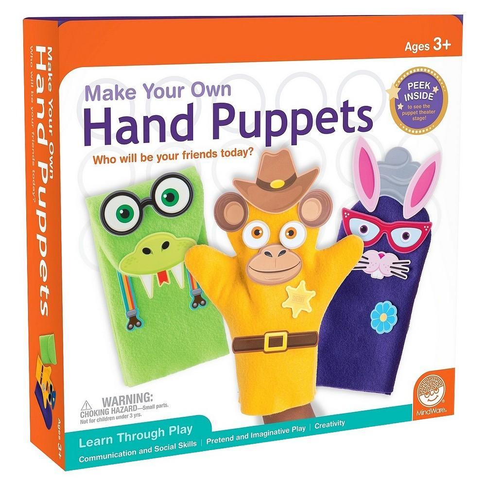 Mindware Make Your Own Sock Puppet Kit