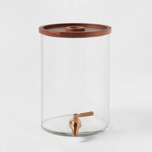 2gal Glass Modern Beverage Dispenser - Threshold™ - image 1 of 4