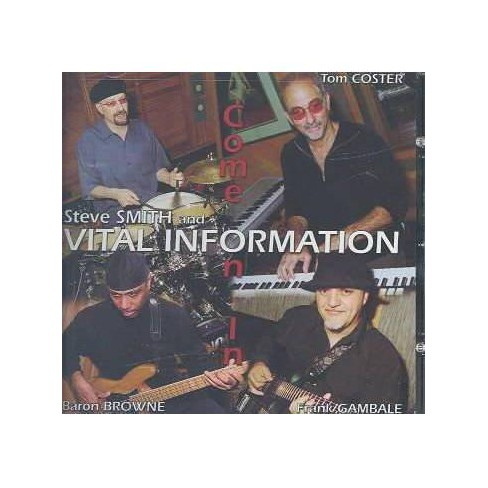 Smith, Steve (Drums) - Come On In (CD) - image 1 of 1