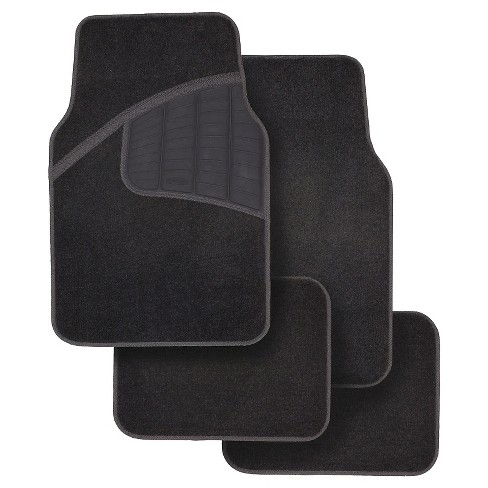 Rubbermaid 4pk Carpet Floor Mats Black - image 1 of 3