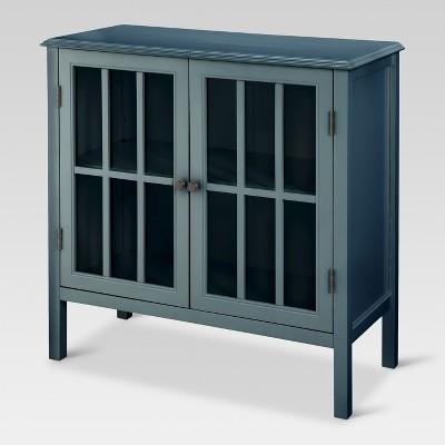 Charmant Windham 2 Door Accent Cabinet Overcast   Threshold™ : Target
