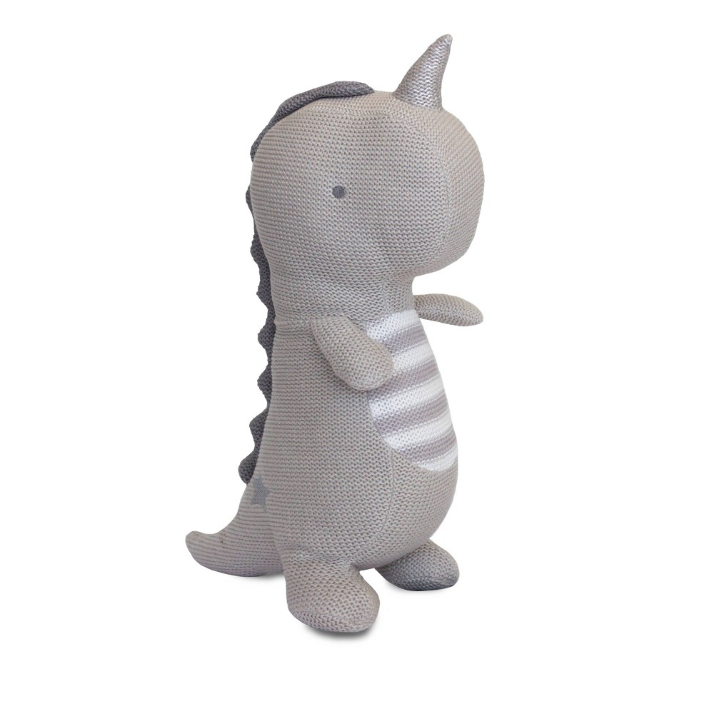 Image of Living Textiles Baby Knit Plush Toy - Taylor T-Rex