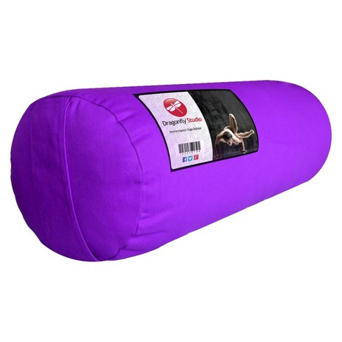 DragonFly Studio Standard Round Bolster - Purple - image 1 of 2