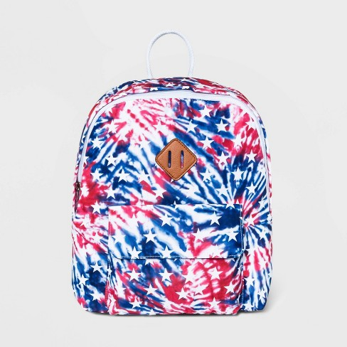 Mad Love Tie-Dye Americana Mini Dome Backpack - image 1 of 4