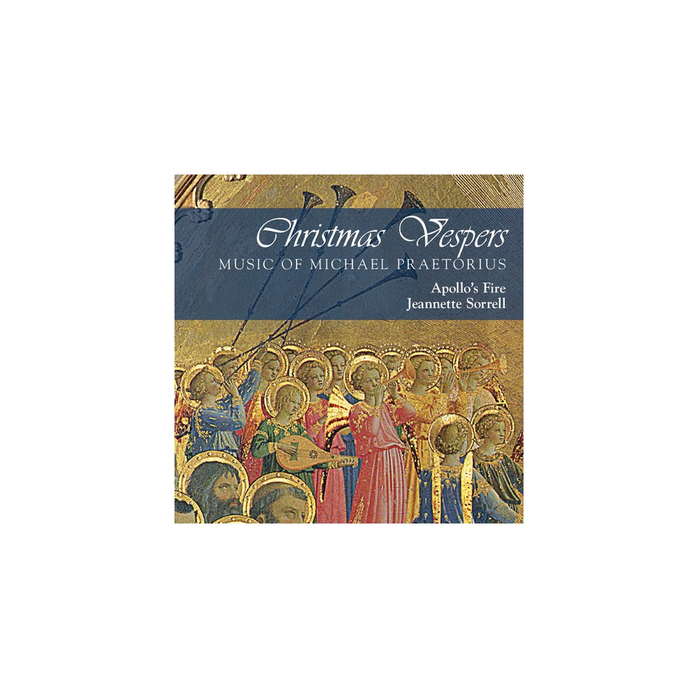 Apollo's Fire - Christmas Vespers:Music Of Michael Pr (CD)