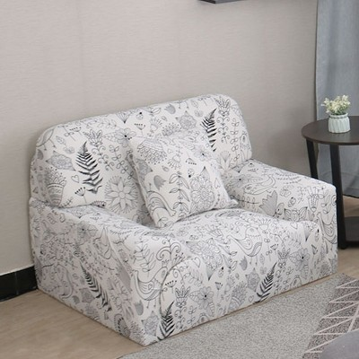 1 Pc Polyester Floral Stretch Sofa Slipcovers - PiccoCasa