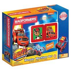 Magformers Blaze Monster Machines Set - 22 Piece