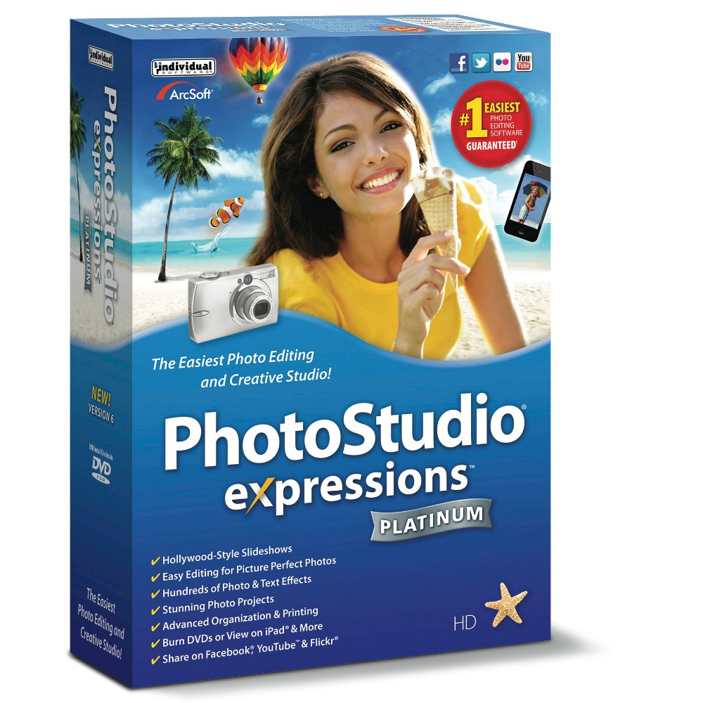 PhotoStudio Expressions Platinum 6 PC Software