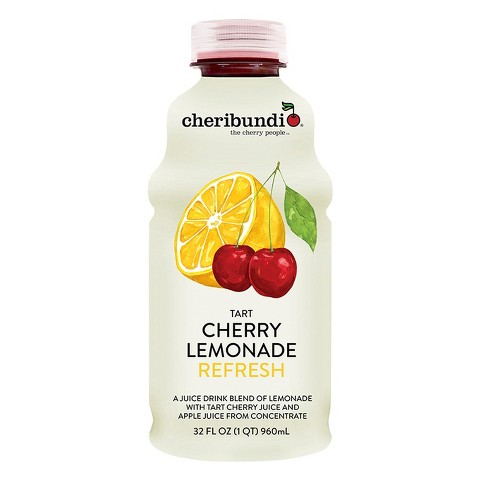 Cheribundi Tart Cherry Lemonade Refresh - 32 fl oz Bottle - image 1 of 1