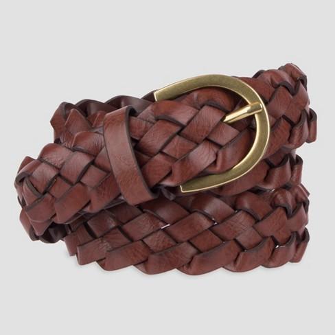 Women's Plus Size Braid Belt - Ava & Viv™ - image 1 of 2